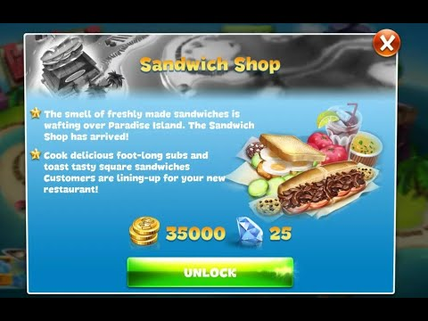 Cooking Fever Sandwich Shop Level 6-10