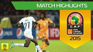 Côte D'Ivoire  - Ghana |  FINAL  | CAN Orange 2015 | 08.02.2015