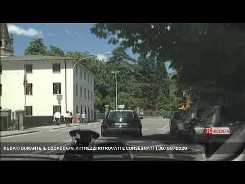RUBATI DURANTE IL LOCKDOWN, ATTREZZI RITROVATI E CONSEGNATI  | 30/06/2020