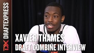 Xavier Thames Draft Combine Interview