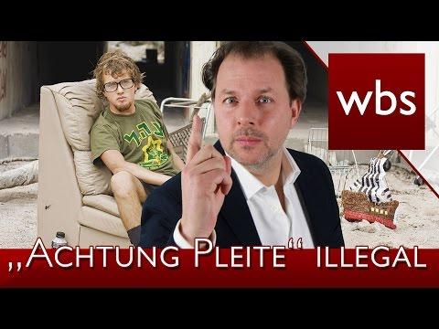 """""""Achtung Pleite"""" App ist nun illegal"""