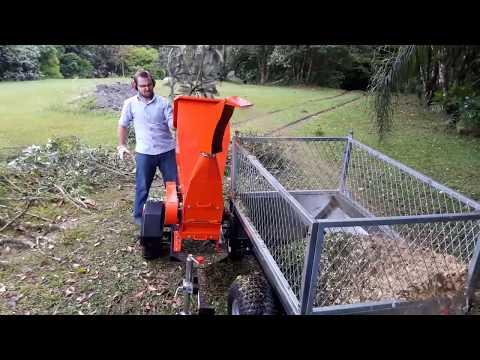 Carreta agrícola de resíduos Lippel - CTR 500