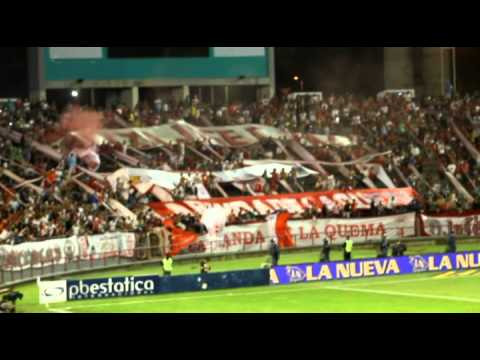 16 1 2015 Copa ciudad de Buenos Aires clasico Huracan 3  vs   San lorenzo 1 - La Banda de la Quema - Huracán