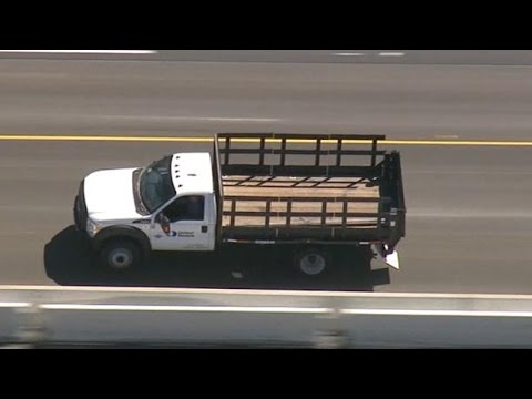 Wild High Speed Police Chase in Southern California