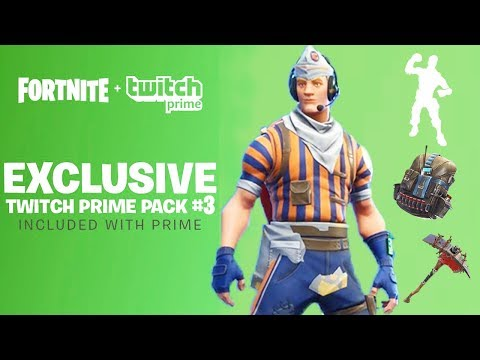 Twitch Prime Pack #3..