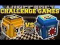 Minecraft: STAMPYLONGHEAD VS IBALLISTICSQUID CHALLENGE GAMES - Lucky Block Mod - Modded Mini-Game