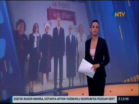NTV- Cumhurbakan Erdoan Ankarada Kadın ve Gençlik Kolları'nın iftar programında konuştu