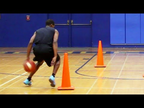 "BASKETBALL DRIBBLE DRILL : ""Serpentine with Flat Back Dribble"" – Shot Science"