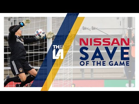 Video: Nissan Save of the Game | Brian Rowe with spectacular reflexes