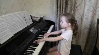 Снег (Ф. Киркоров). Виктория Викторовна 6 лет. Дети поют.