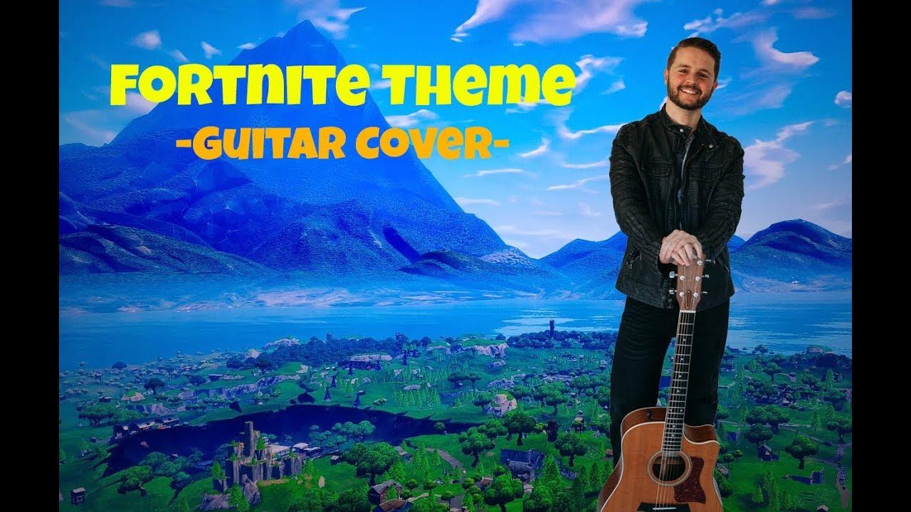 Fortnite Theme Song – Guitar Cover (Stan Dotseth)