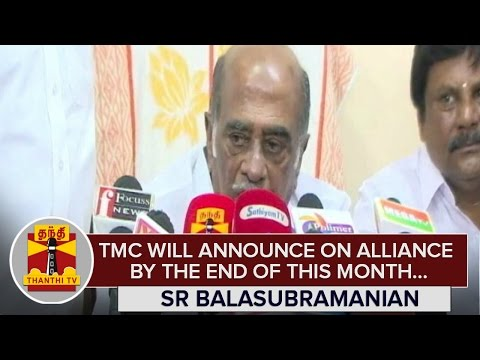 Tamil-Maanila-Congress-will-announce-on-Alliance-by-the-End-of-This-Month-SR-Balasubramanian