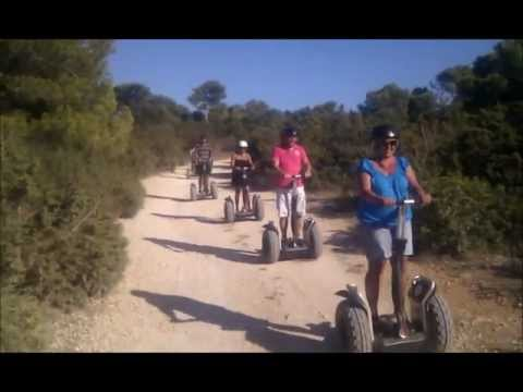 SSEGWAY - Segway on the roads and bosqe of Cala Millor, Mallorca, Spain! Segway Farhren in Cala Millor, Mallorca Spanien! Segway rijden in Cala Millor, Mallorca, Spanj...