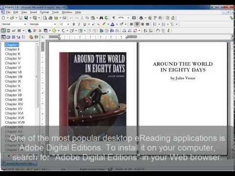 Atlantis Word Processor. Creating eBooks (Part 5). Previewing eBooks