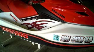 8. LOT 2348A 2007 Sea Doo GTX Wake Edition 215 Supercharged