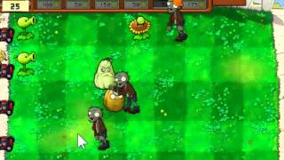 GamePlay Of Plants Vs. Zombies By PopCap Games - Free Online Games