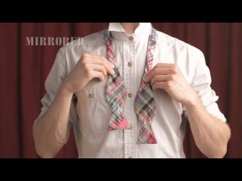 How To Tie A Bow Tie [MIRRORED]