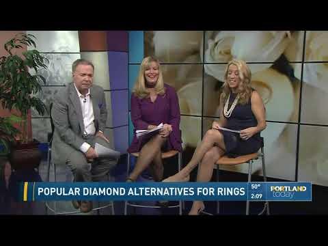 Popular diamond alternatives for rings