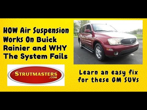 Switching To A Coil Spring Suspension From An Air Suspension On The 2002-2009 Buick Rainier