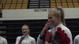 Military Brother Surprises @GWGymnastics Senior