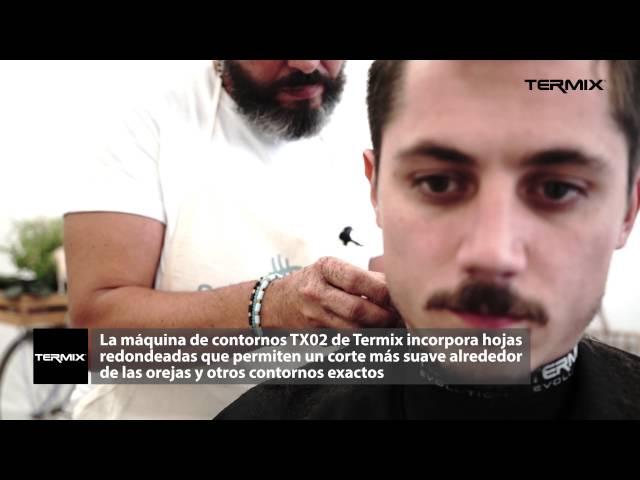 Corte masculino por Albert Catalán y Termix