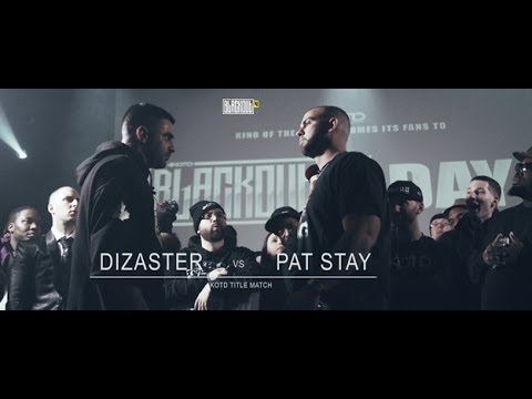 KOTD, Rap Battle: Pat Stay vs Dizaster (2014)