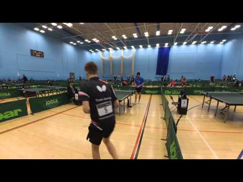 2015 Bristol Grand Prix David McBeath vs. Tom Jarvis Game 3 [Xiaomi Yi]