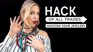 5 Jewelry Hacks that will keep your accessories sparkling and tangle free! If you like this episode of Hack Of All Trades give it a THUMBS UP + COMMENT below!___Big thanks to Tory, be sure to check our her YouTube Channel: http://bit.ly/2odlTNC___CONNECT WITH KIN COMMUNITYSubscribe here: http://bit.ly/MKYoureInvitedFacebook: https://www.facebook.com/KinCommunityPinterest: https://www.pinterest.com/kincommunityTwitter: https://twitter.com/kincommunityInstagram: https://instagram.com/kincommunitySnapchat: http://bit.ly/AddKinYour source for new skills, new stuff, and new perspectives related to the most important place in the world, Home. Make your way home with Kin Community.
