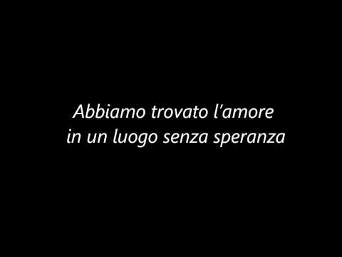 , title : 'Rihanna - We Found Love (Tradotta in Italiano)'