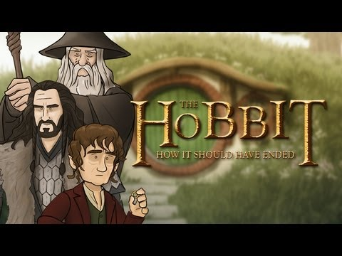 how should - Return to the Shire with Bilbo, Gandalf, Gollum and the gang to see how the Hobbit should have ended. Thank you for watching! Be sure to click on that 'Like'...