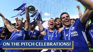 Video Chelsea are 2016-17 Premier League Champions! | On the pitch celebrations with the team MP3, 3GP, MP4, WEBM, AVI, FLV Mei 2017