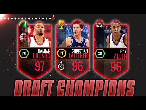 NBA Live Mobile DRAFT CHAMPIONS!!! CRAZY 92+ DRAFT!! - Quickselling a 88+ Elite!!! (видео)