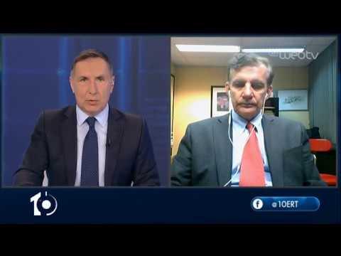 Ο Θάνος Δημόπουλος στο «10» | 16/04/2020 | ΕΡΤ