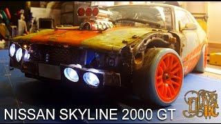Video RC DRIFT CAR - NISSAN SKYLINE 2000 GT MP3, 3GP, MP4, WEBM, AVI, FLV Agustus 2018