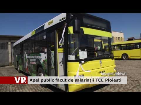 Apel public făcut de salariații TCE Ploiești