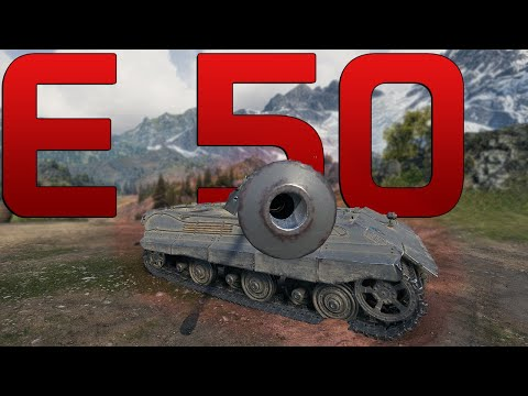 One of my favourite: E 50   World of Tanks