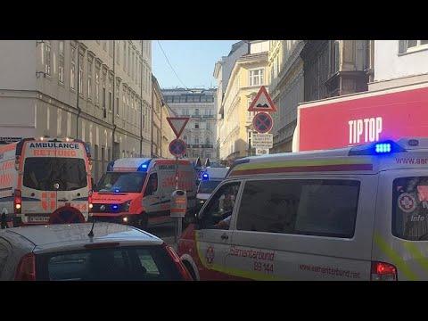 Wien: 5-stöckige Gebäude eingestürzt - 6 Schwerverlet ...