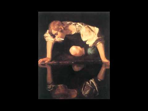 caravaggio narcissus at the source video khan academy