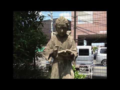 川尻小学校の金治郎