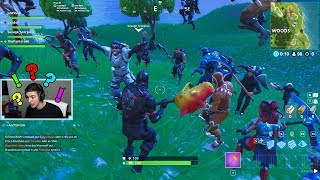 So I told the stream viewers to find me in Fortnite..