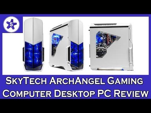 SkyTech ArchAngel Gaming Computer Desktop PC Review: Ryzen & GTX 1050 Ti Edition
