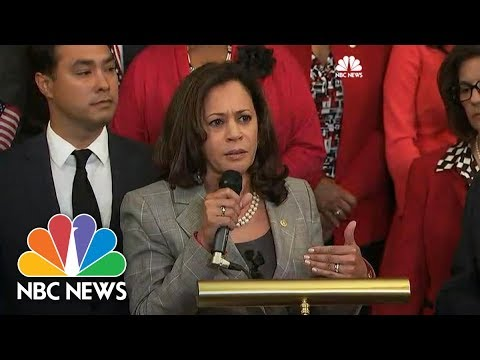 Senator Kamala Harris On DACA: 'We Got To Stop Playing Politics With These Kids' | NBC News