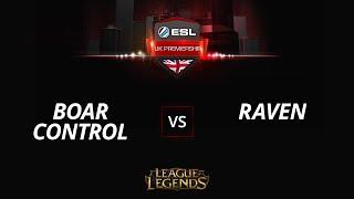 BoarControl vs RavenHS, game 1