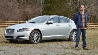 Jaguar XF Supercharged 2012 Test Drive&Car Review By RoadflyTV With Ross Rapoport