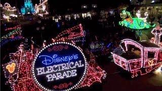 Magic Kingdom Main Street Electrical Parade 2013 Walt Disney World HD