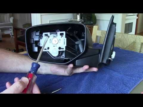 replace 2008 2010 honda accord side mirror how to change install skull cap 2009 car fix diy. Black Bedroom Furniture Sets. Home Design Ideas