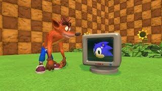 Video What If Crash Bandicoot Was In Sonic? MP3, 3GP, MP4, WEBM, AVI, FLV Juli 2018
