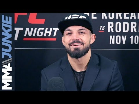 UFC Denver: Mike Perry full media day scrum
