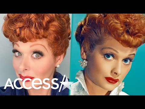 Debra Messing Transforms Into Lucille Ball For 'Will & Grace' Episode And The Result Is Mind-Blowing