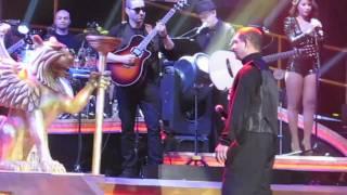 Romeo, Luis Vargas Y Anthony Santos en el Madison
